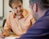 consultant immobilier à l'écoute